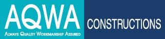 AQWA Construcitons Logo: Small