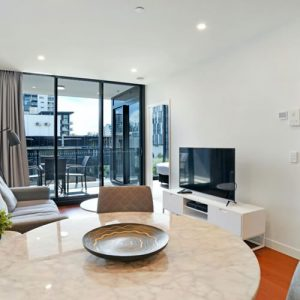 """Photo of a high-rise Brisbane Apartment 